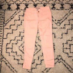 Peach Refuge Skinny Jeans